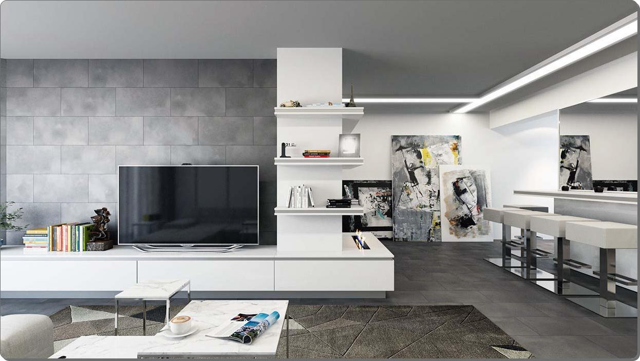 Wall tekstur design for stuen: ideer & inspirasjon   interiør ...