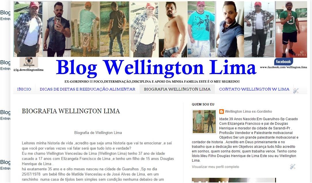 BIOGRAFIA WELLINGTON LIMA