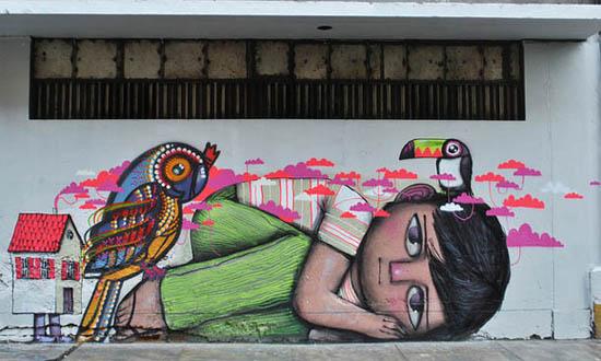 arte urbana - Seth Globepainter - grafitti