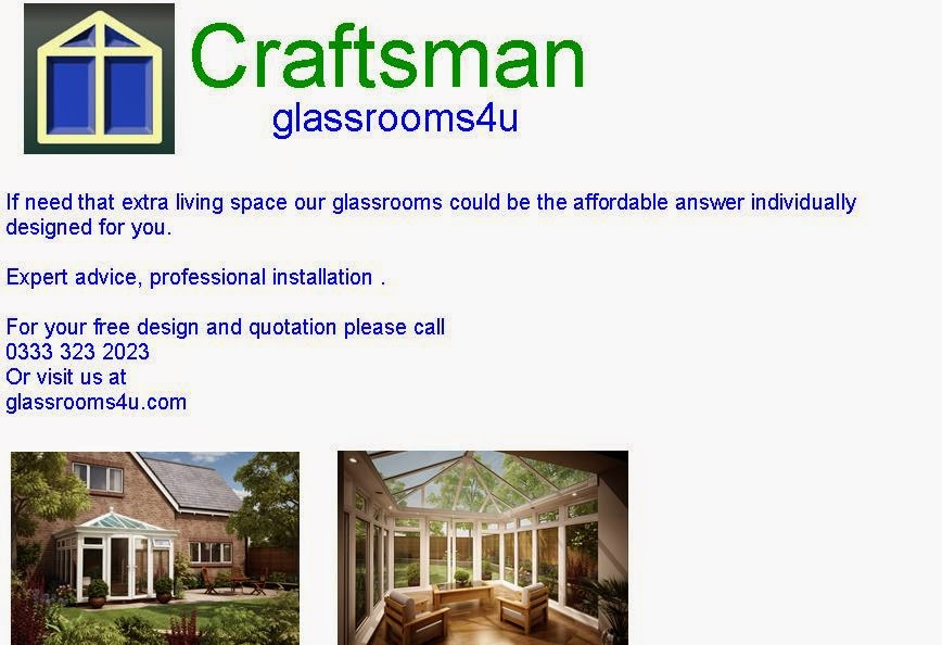 Craftsman - glassrooms4u - Highly recommeded family company * Click Logo for link *