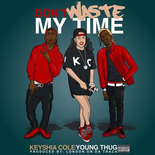 "Keyshia Cole – ""Don't Waste My Time"" f. Young Thug"