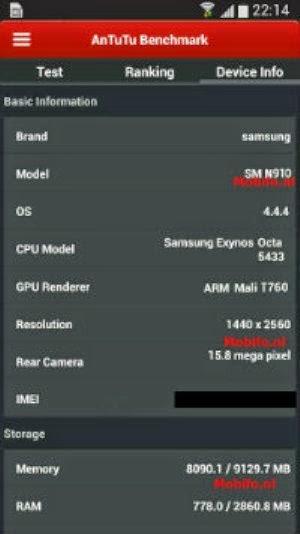 Bocoran Spek Samsung Galaxy Note 4