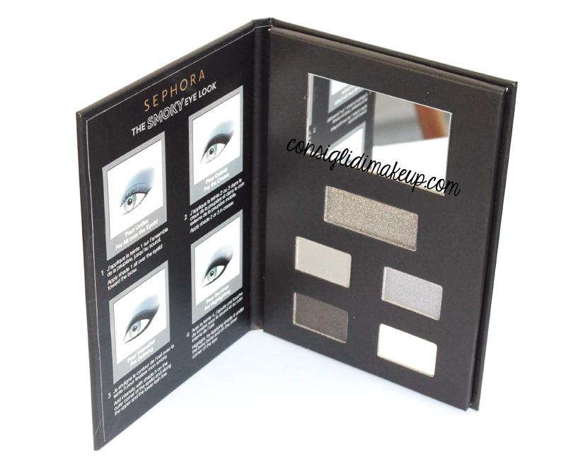 recensione 4 eye look books sephora swatches