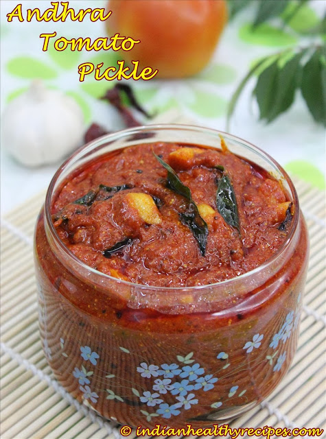 andhra tomato pickle