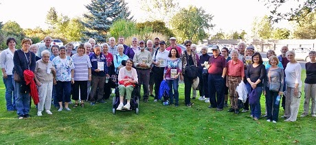 Latah County Historical Society bus tour group September 20, 2014
