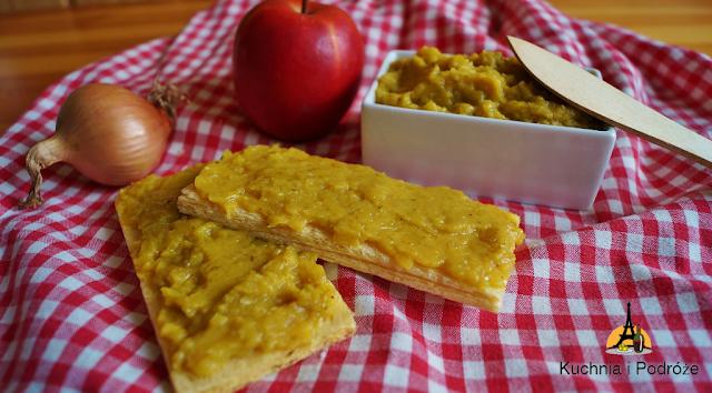 Pasta cebulowo-jabłkowa