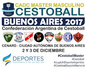 CADC MASTER MASCULINO DE CESTOBALL
