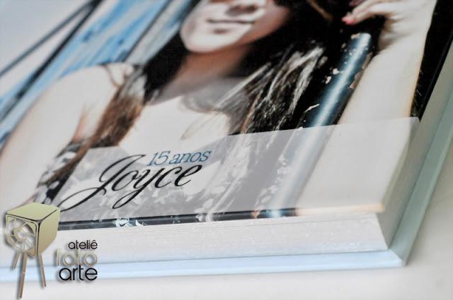 Diagramação álbum de 15 anos Joyce