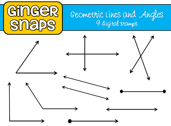 Lines And Shapes : Ginger snaps geometric shapes and lines art