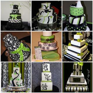 Wedding Cake Vert Drapeau Congo