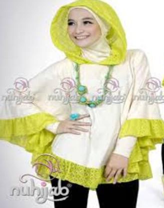 10 Contoh Model Baju Hijab Modern Terpopuler 2015