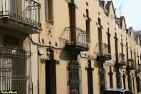 Detall de les cases del Passatge del Tinent Costa. Autor: Carlos Albacete
