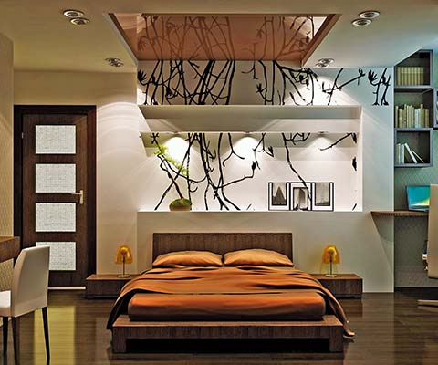 Casas de tablaroca modernas imagui - Decoracion muros interiores ...