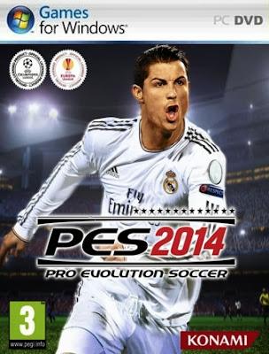 Pro Evolution Soccer (PES) 2014 Repack Cover