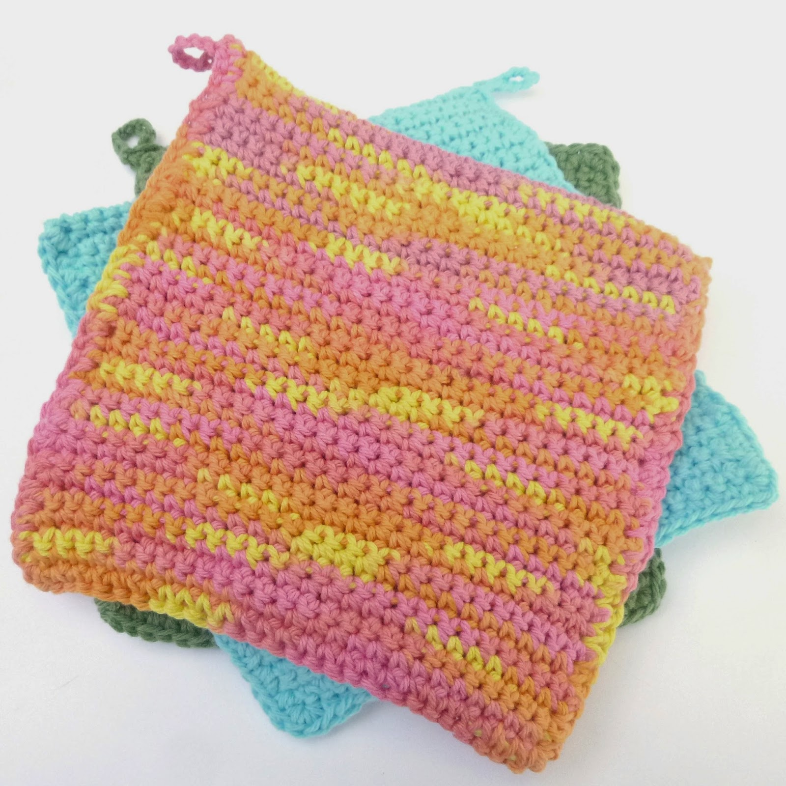 Wild Green Pastures: Basic Heavy Duty Potholder Crochet Pattern