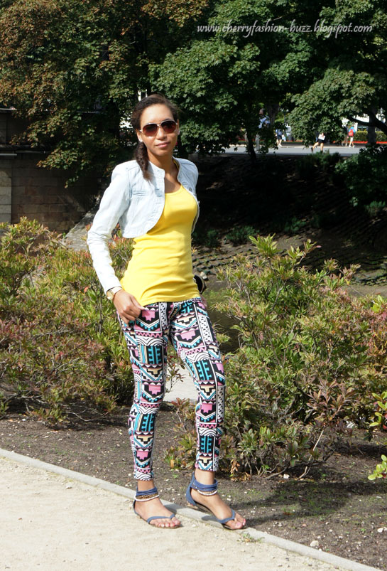 How to style aztec leggings, Aztec leggings