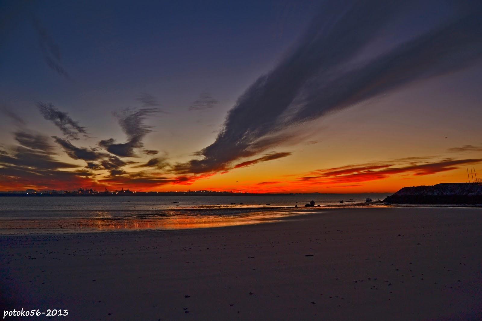 Nubes Playas Mar