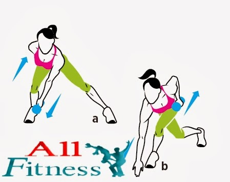 1. Lateral to Curtsy Lunge and Row 2. Lateral Lunge Jump 3. Pushup with Knee Raise