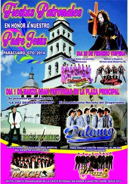 bailes parácuaro 2014