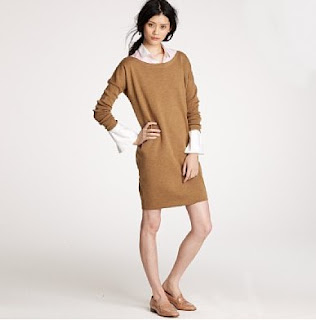 J.Crew sweater dress