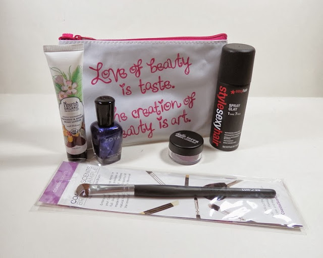 October 2013 Ispy Glam Bag