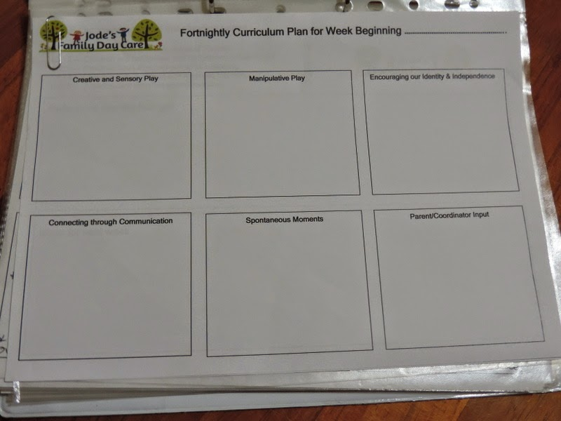Documentation strategies using the EYLF for home/family day care services . Find more at  Mummy Musings and Mayhem