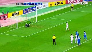 اهداف مباراة الهلال 2-1 السد القطري || دوري ابطال اسيا||