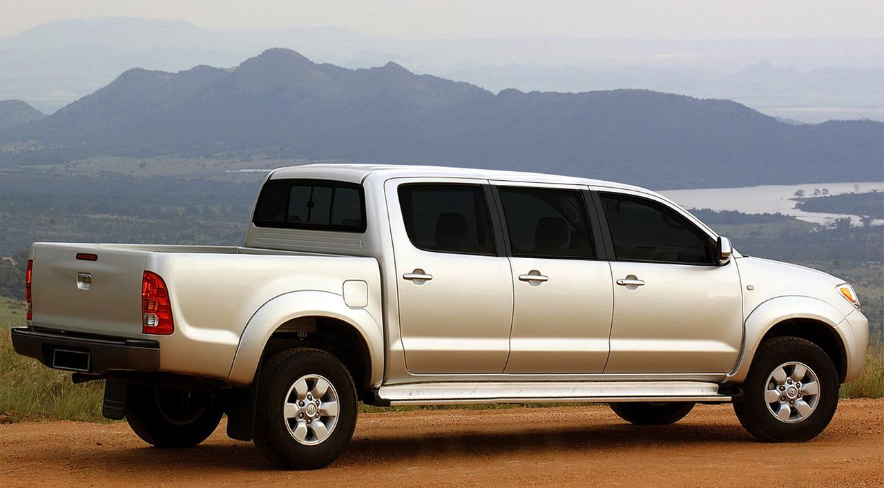 Proje 199 195 O Toyota Hilux Cabine Tripla Auto Proje 231 245 Es