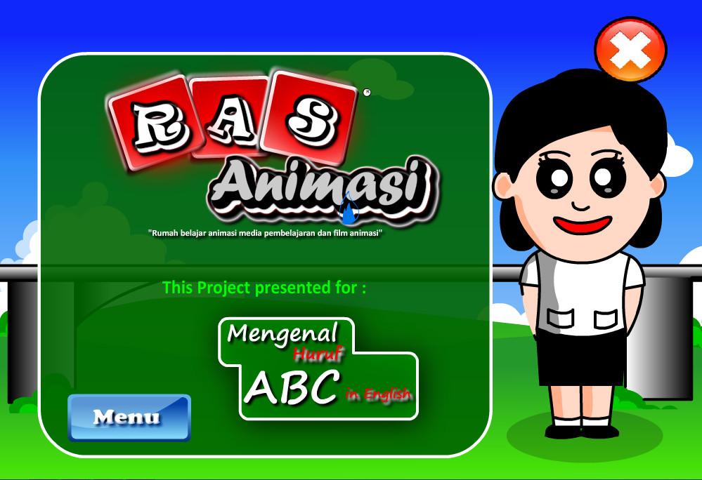 Animasi Media Pembelajaran Sederhana Quot Mengenal Huruf Alfabet Dalam Bahasa Inggris Quot Tulisan Infoku