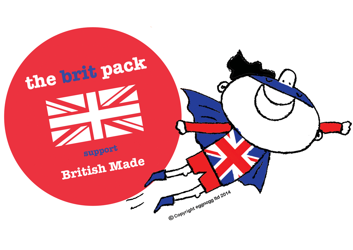 The Brit Pack Logo