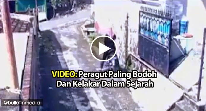 VIDEO Peragut Paling Bodoh Dan Kelakar Dalam Sejarah