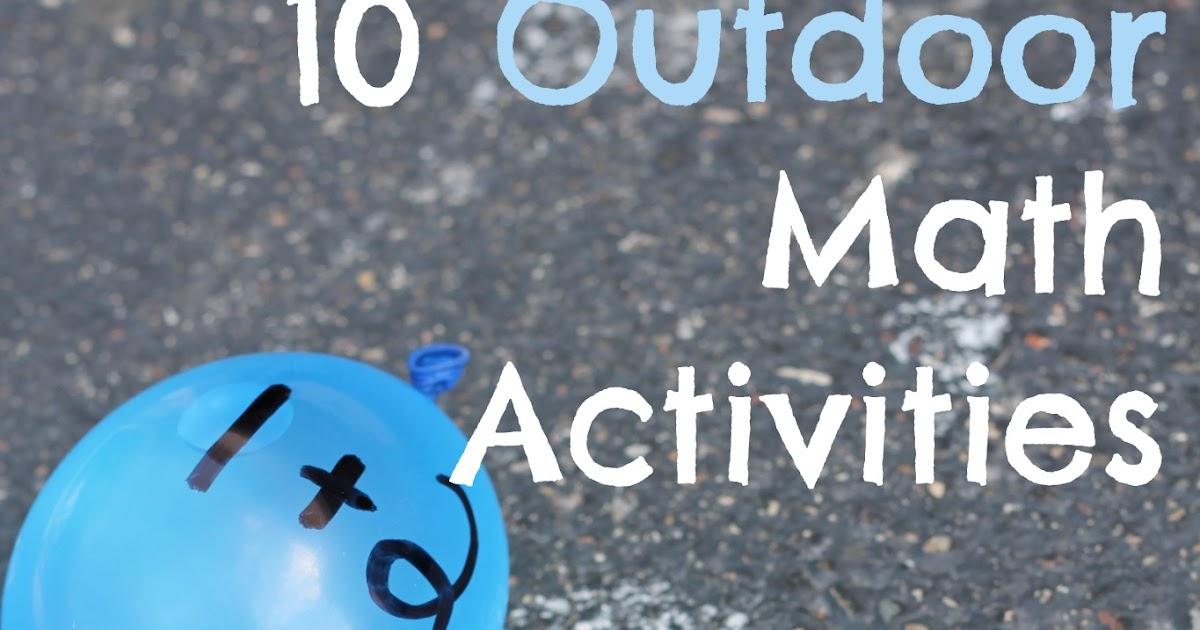 10 outdoor math activities  kid u0026 39 s co