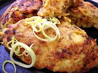 Batata Rosti de Alho-Poró ao Curry (vegana)