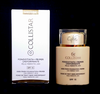 Review: Fondotinta + Primer Uniformante - Collistar