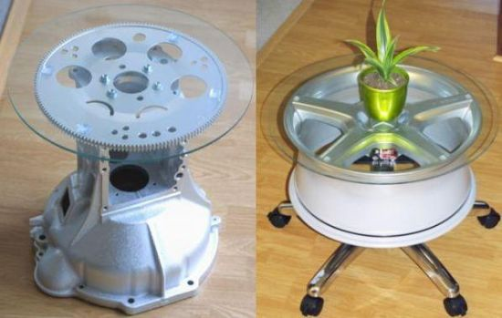 How to recycle recycling old auto spare parts for Auto decoration parts