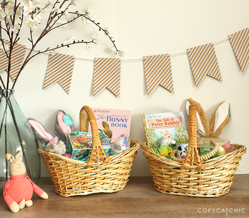 Copy Cat Chic Easter Basket Time