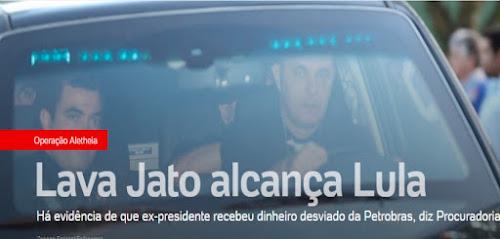 Aletheia - Lula está num mato sem cachorro!