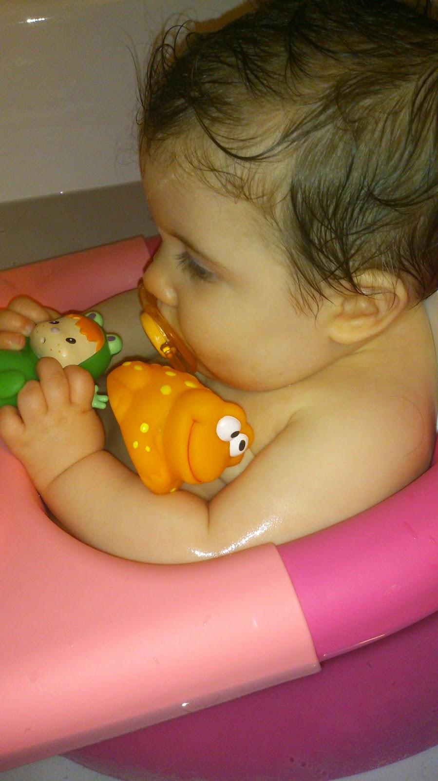 Bulle pour le bain de Bébé... à partir de quel âge?