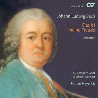 Johann Ludwig Bach - Das ist meine Freude (Motetes)