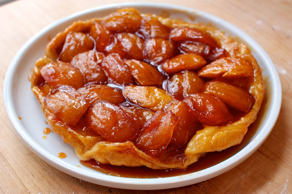 Apple Tarte Tatin Egg-free apple tarte tatin