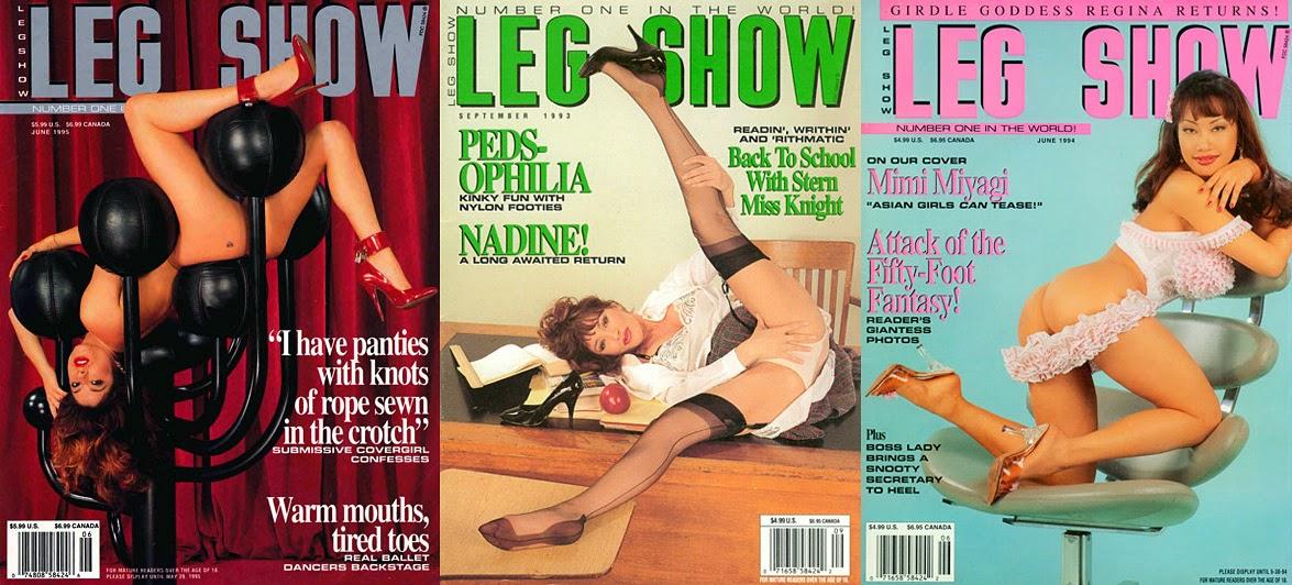 Magazine fetish asian foot