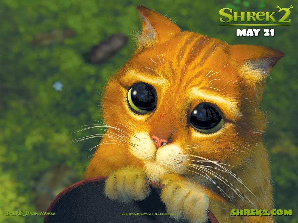 Shrek 2 Кот в сапогах