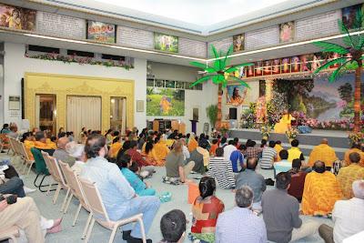 Thanksgiving retreat with Siddheshvari Devi at Radha Madhav Dham 16