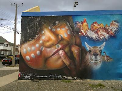 Graffiti en Puerto Natales