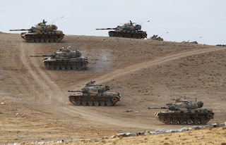 Turkey Opens two War Fronts at Southeastern Border