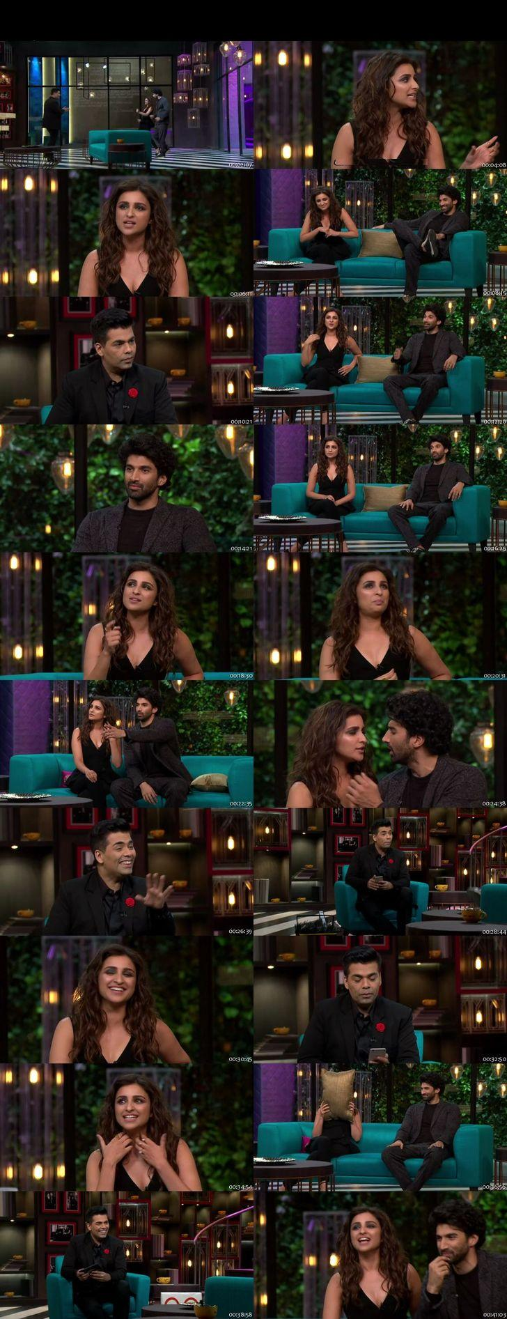 Screen Shot Of Koffee With Karan 4th December 2016 Season 05 Episode 05 300MB Watch Online
