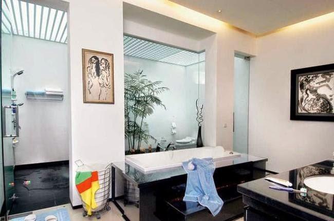 Tips membuat kamar mandi untuk relaksasi