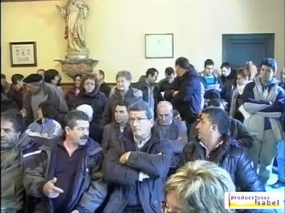 reportaje en vídeo de la crecida del Ebro en Buñuel