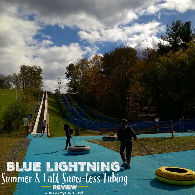 Fall Fun At Blue Lightning Tubing - Snow-less Tubing & Beautiful Fall Foliage One Savvy Mom onesavvymom blog NYC