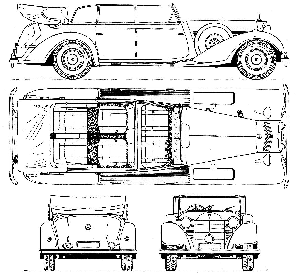 770 ``Grand Mercedes`` W 150